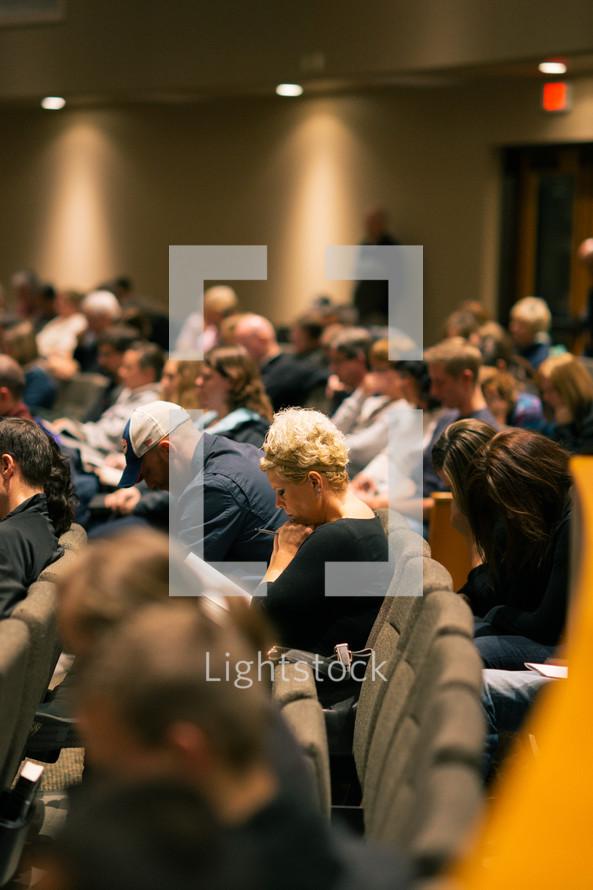 attentive congregation