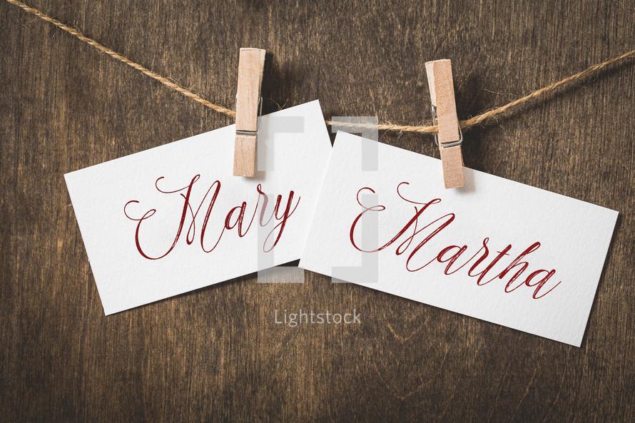 Mary Martha