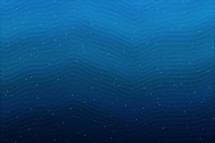 blue waves abstract background,