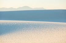 sand texture on sand dunes