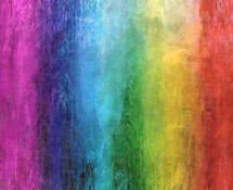rainbow of color