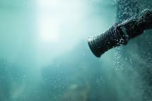 aquarium valve under water