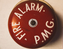 an old fire alarm