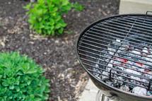 hot coals on a girl