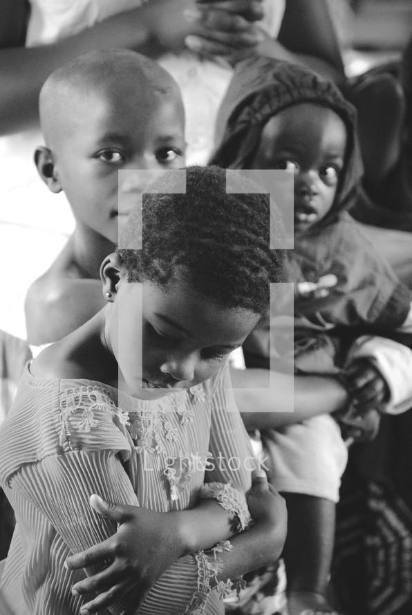 young children in Rwanda