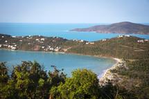 St Thomas shoreline