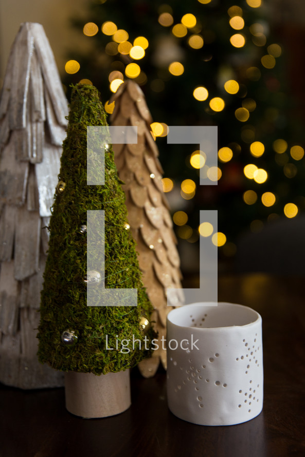 Christmas tree home decor