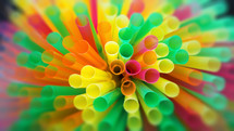 colorful straws abstract textured background