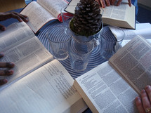 International small group bible study. 
