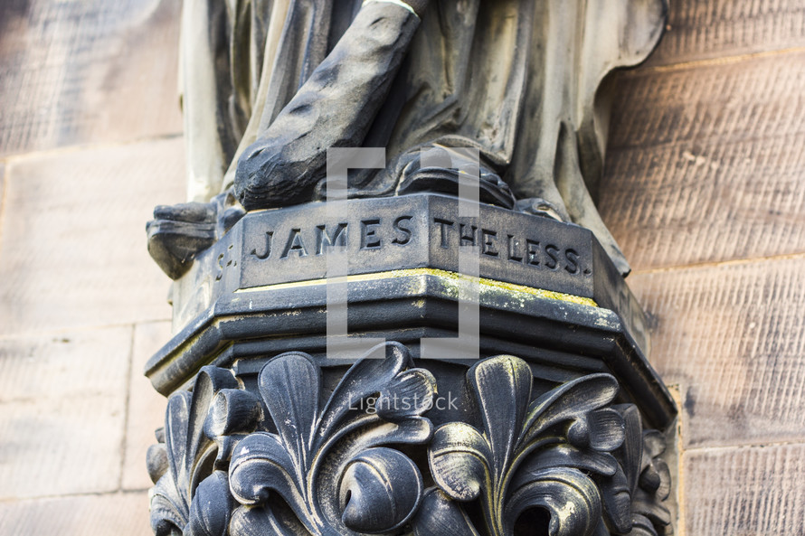 James the Less statue