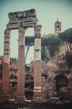 columns of ruins