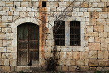 old stone building in Jordan