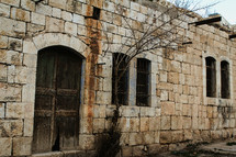 old stone building