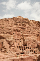 The Urn Tomb in Petra.