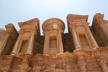 Top of the Monastery in Petra.