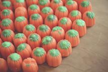 candy corn pumpkin candy