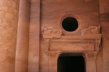 Doorway of the Treasury in Petra
