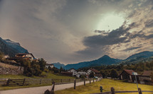 rural mountain village
