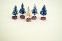 tree figurines