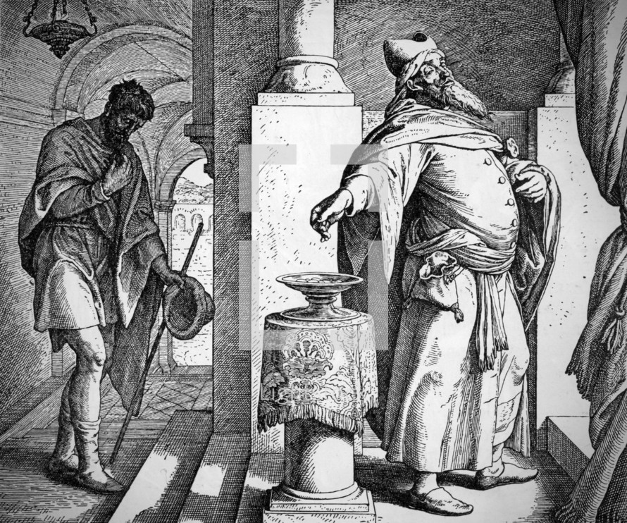 The Pharisee and Tax Collector, Luke 18:9-14