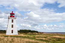 Lighthouse on Prince Edward Island.
