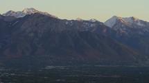 Mountains and Salt Lake City