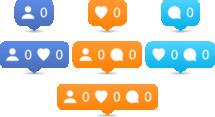 orange, icon, set, heart, 0, person, talk bubble, blue
