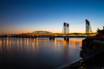 Vancouver Washington Columbia River Crossing bridge
