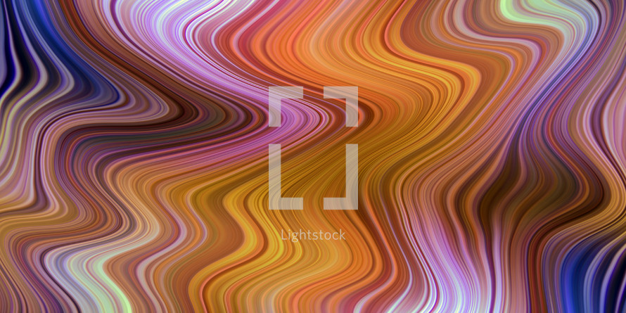wonderful wobbles of rich color abstract background