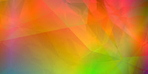orange yellow pink green geometric abstract polygonal wallpaper