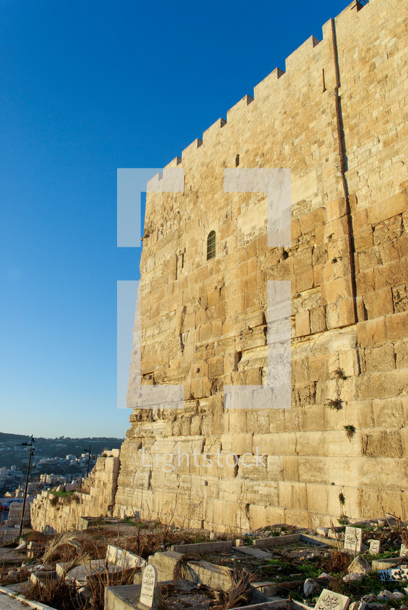 The southeastern corner of the Temple Mount.