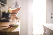 Chemex slow brew coffee carafe