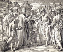 Abram Blessed by Melchizedek Genesis 14:17-20