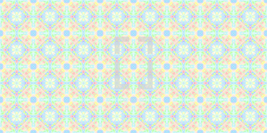 cheerful seamless tile pattern in light bright color