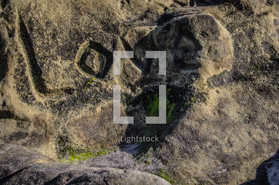 Love written in stone.