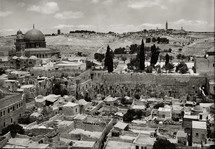 Dome of the Rock and the Western Wall.