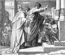 Peter Heals the Crippled Beggar, Acts 3: 1-10