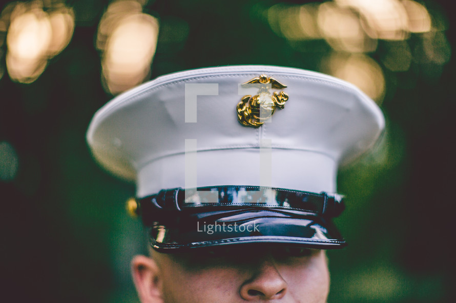 serviceman in uniform