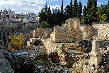Pools of Bethesda and Crusader Chapel.