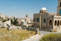 Bethany Churches and Lazarus tomb.