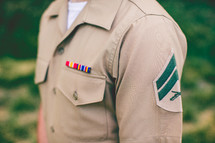 serviceman in uniform
