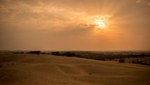 desert Outside Jaisalmer, India