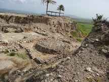 "Canaanite temple complex at Megiddo (""Armageddon"")"