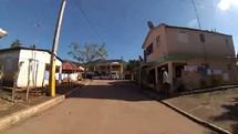 Driving through rural Dominican Republic