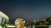 Ring Plaza near Kyle Field at Texas A&M University.