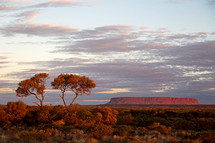 Ayers Rock in Australian outback