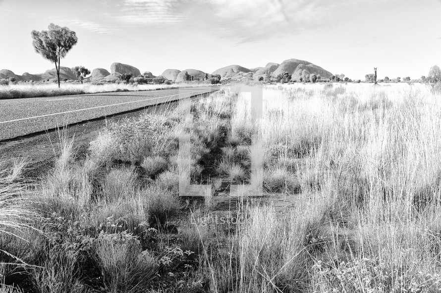 road through the Outback