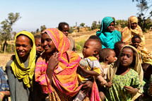 school children in Ethiopia