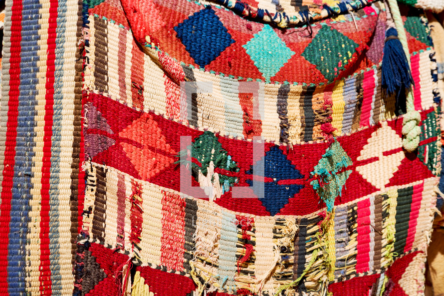 colorful patchwork blanket