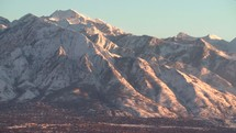 mountains surrounding Salt Lake City